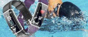 pulseras actividad natación