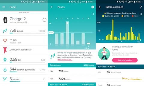 Fitbit charge App