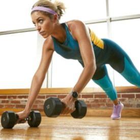 Garmin Vivoactive 4S ejercicos pilates