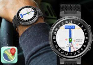 reloj deportivos mapas y navegación