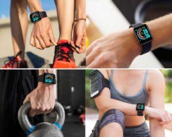 Funciones deportivas smartwatch red rec
