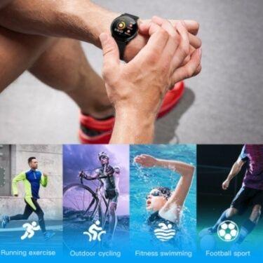 Deportes con smartwatch