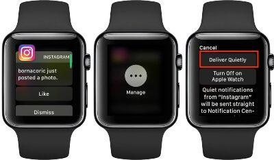 Notificaciones smartwatch deportivo