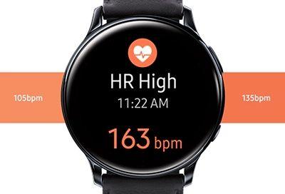 Smartwatch deportivo frecuencia cardíaca