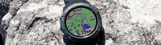 smartwatch deportivo rutas y mapas