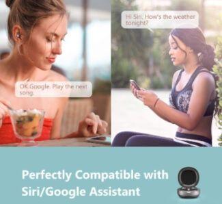 Google Assistant y Siri en auriculares deportivos bluetooth