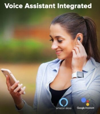 auriculares in ear con asistente de voz